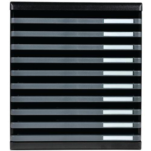 Ladenbox 10 open ecoblack modulo A4 Exacompta