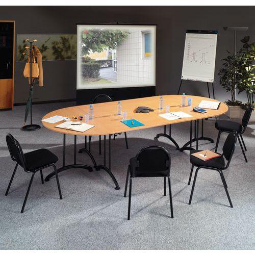 Table modulaire pliante pi tement noir - Pietement pour table pliante ...