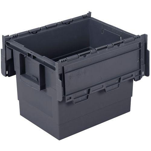 Bac de transport Integra®  - Longueur 600 mm - Gris