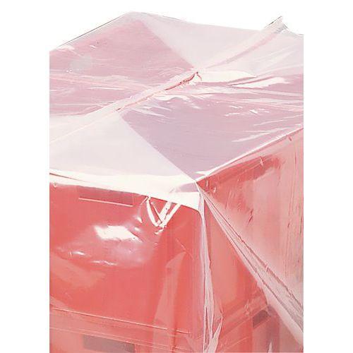 Polyethyleen krimphoes - Voor pallet van 1000 x 1200 mm