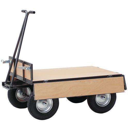 remorque parois bois force 750 kg plateau 800 x 1200 mm. Black Bedroom Furniture Sets. Home Design Ideas