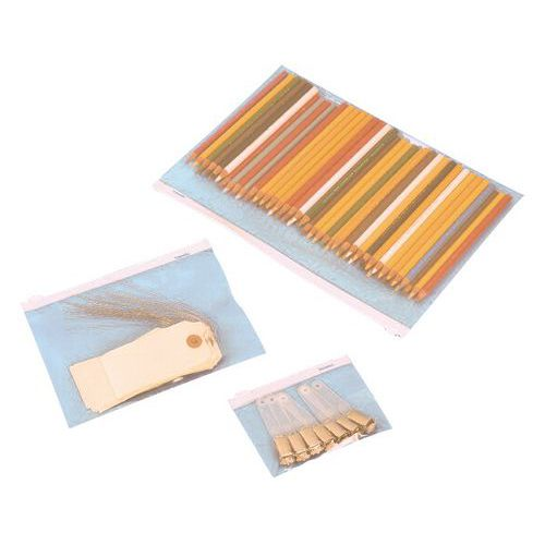 Sachet plastique Topmatic Minigrip® - 75 µm - À curseur