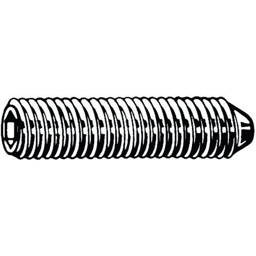 Stelschroef met binnenzeskant en kegelpunt verzinkt staal 45H_07801