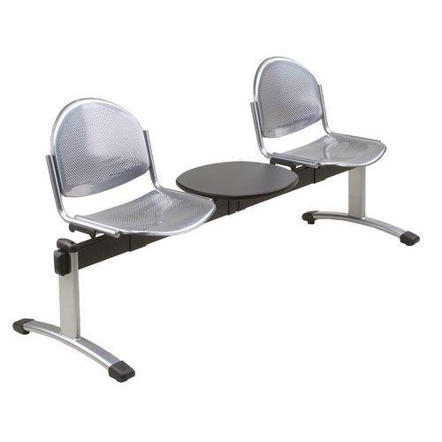banc pour salle d 39 attente oker 2 places. Black Bedroom Furniture Sets. Home Design Ideas