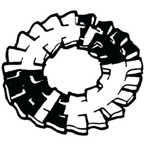 Tandveerring vlak met dubbel vertanding type DD Verenstaal_37580