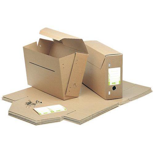 Boîte archives en carton