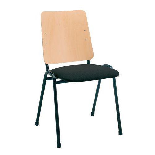 Gestoffeerde stoel timo manutan - Comfortabele stoel ...