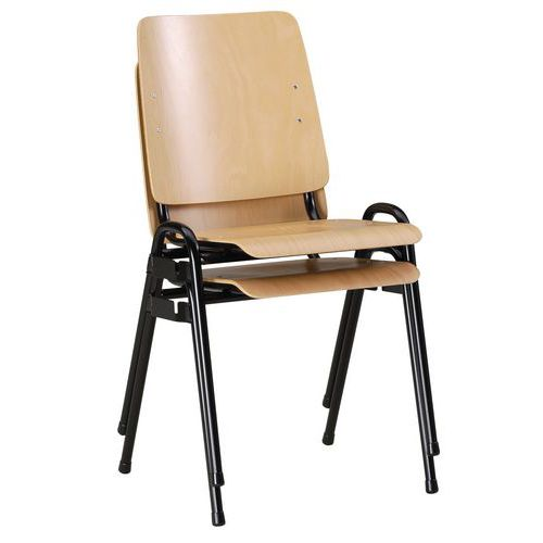 Chaise timoth e assemblable sans accoudoirs for S asseoir sans chaise
