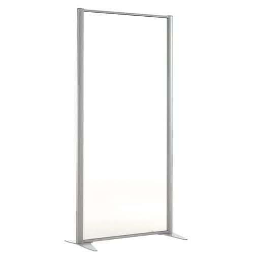 Scheidingswand KP+ - Glas - Hoogte 160 cm
