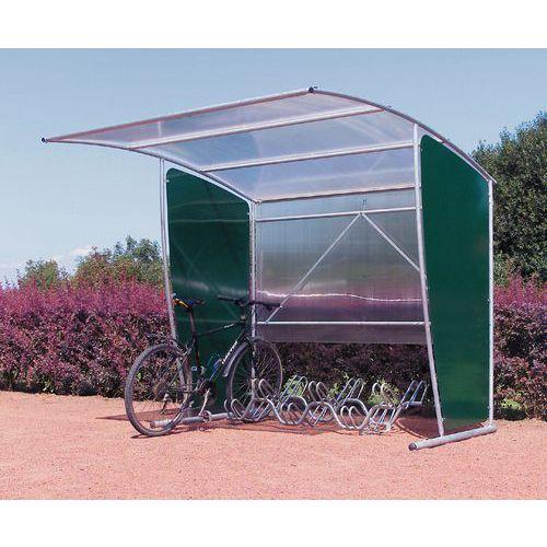 Fietsenstalling rechthoekig - Basismodule met fietsenrek voor 6 plaatsen