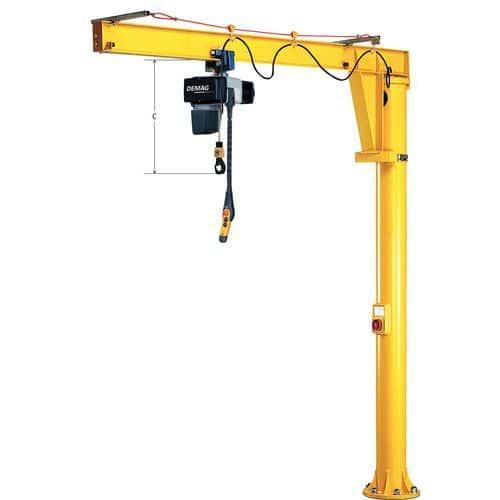 Potence sur fût avec angle de pivotement 360° - Force 1000 kg