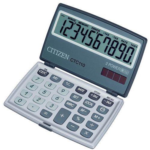 calculatrice citizen ctc 110. Black Bedroom Furniture Sets. Home Design Ideas