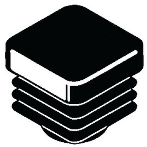 Meubeldop vierkant (lamelstop) Kunststof Polyethyleen_56795