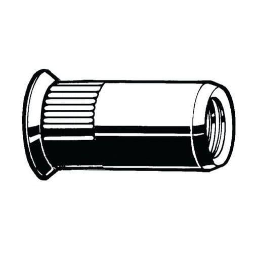 Blindklinkmoer verzonkenkop open gekarteld schacht verzinkt_69155
