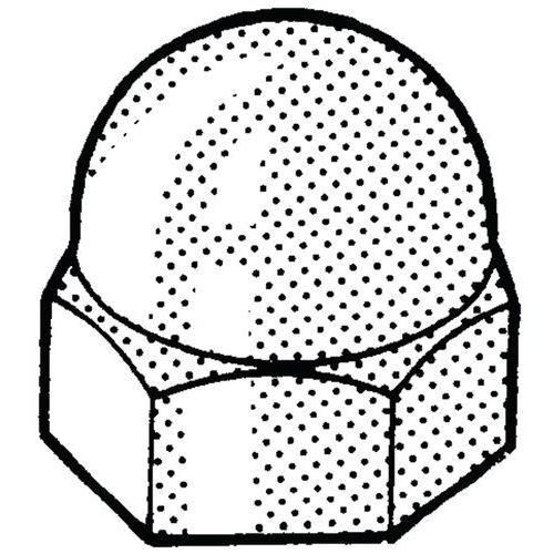 Beschermkap voor zeskantbouten en -moeren Kunststof Polyethyleen_56662