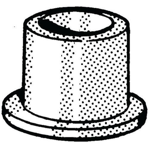 Isolatiemanchet Kunststof Polyamide (nylon) wit 6.6_56760