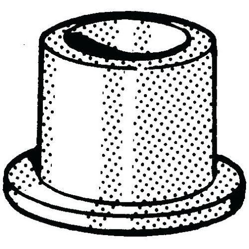 Glijlager Kunststof Polyamide (nylon) 6.6_56806