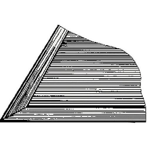 bordure pour caillebotis pvc. Black Bedroom Furniture Sets. Home Design Ideas
