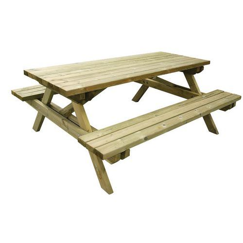 Picknicktafel Bos - Naaldhout