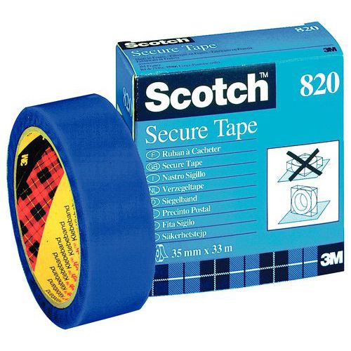 Veiligheidstape - Scotch 820