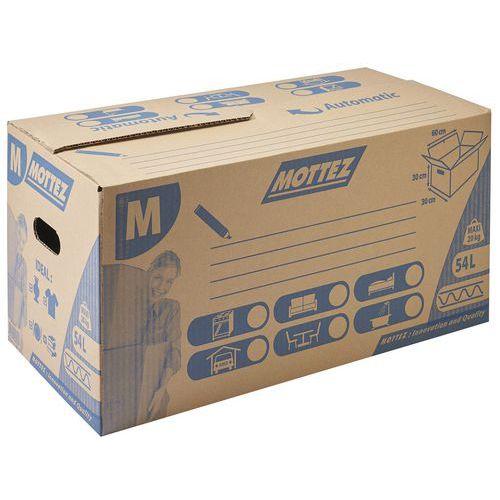 Carton de déménagement 54 litres - Mottez