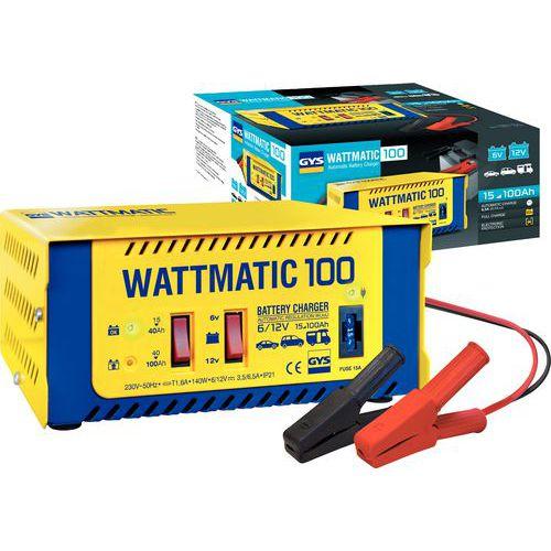 Automatische acculader 6/12 V WATTMATIC 100