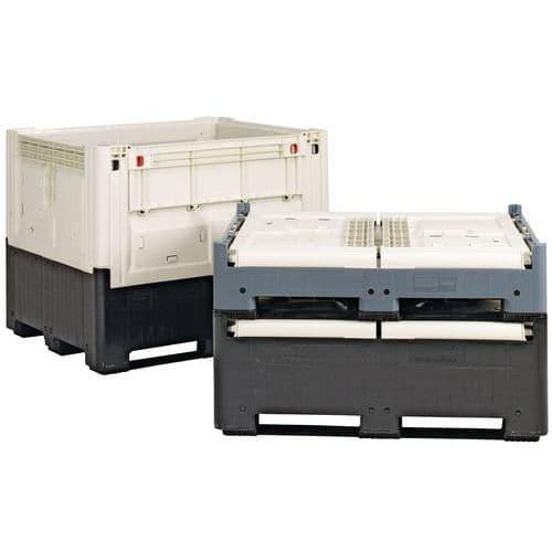 Opvouwbare Smartbox-palletkist - Met ladingsklep