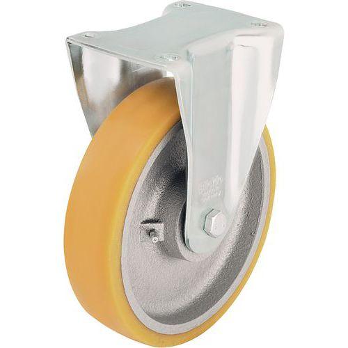 Roulette fixe à platine - Force 350 à 900 kg
