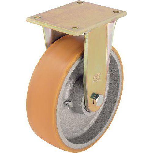Roulette fixe à platine - Force 550 à 3 300 kg