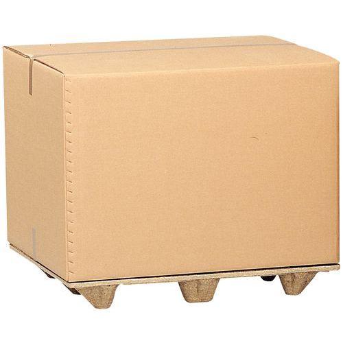 Containerdoos voor pallet - Drielaags golfkarton