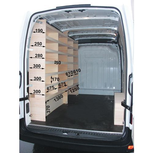 Kit meuble gauche - Habillage droite - Renault Master - Fiat Ducato - Opel Movano - Nissan NV400