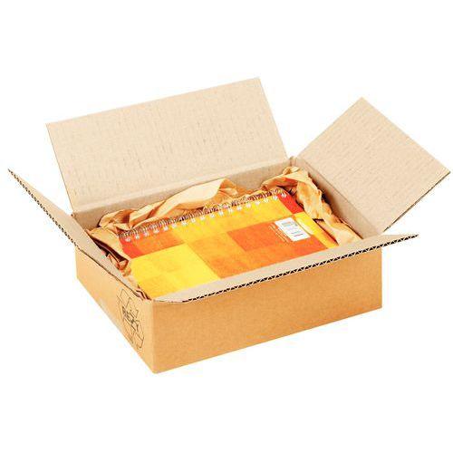Caisse carton - Simple cannelure - Petite cannelure