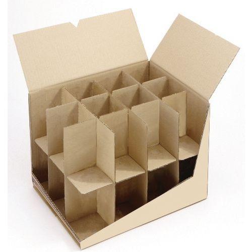 Carton + croisillons spécial verre - Mottez