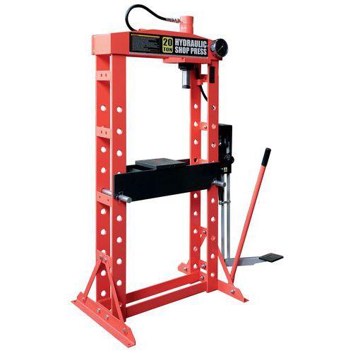 Werkplaatspers hydraulische van 12 tot 50 T