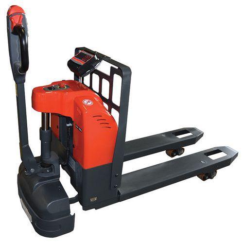 Palletwagen Elektrisch met weegsysteem 1.5 T