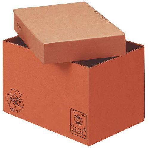 Caisse carton - Double cannelure