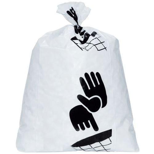 Sacs-poubelle blanc - Déchet lourd - 60 à 160 L - Manutan