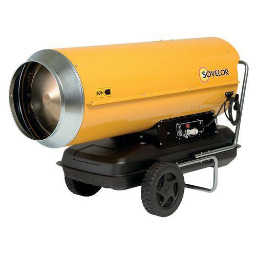 Verplaatsbare heteluchtverwarming - op brandstof - indirecte verbranding - 111 KW - Sovelor