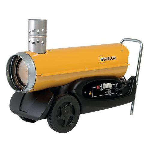 Verplaatsbare heteluchtverwarming - op brandstof - indirecte verbranding - Sovelor