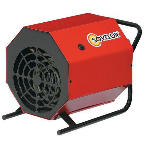 Heteluchtverwarming - elektrisch - draagbaar