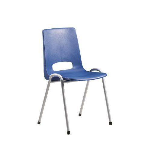 chaise coque plastique bleu. Black Bedroom Furniture Sets. Home Design Ideas