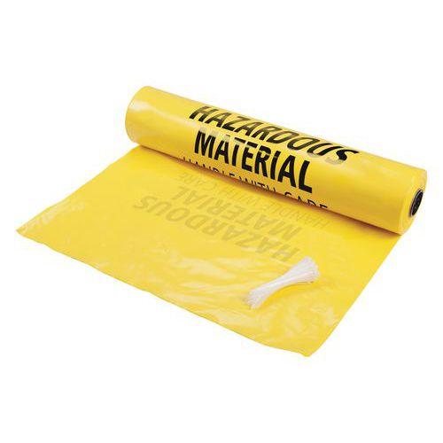 Verzamelzak voor gebruikte absorptiemiddelen