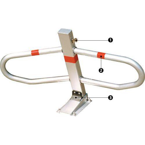 Parkeerbeugel Flexy - Cilinderslot