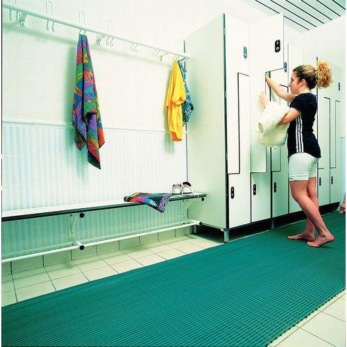 Anti-slip roostermat voor kleedruimtes - Rol