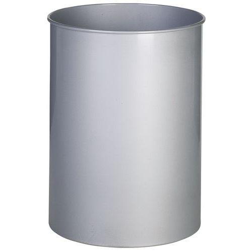 Afvalbak metaal rond - 15 l