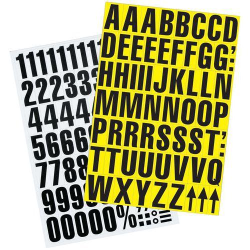 Magnetische cijfers en letters - Manutan