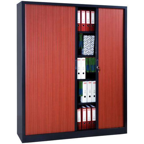 armoire rideaux extra large en kit largeur 160 cm. Black Bedroom Furniture Sets. Home Design Ideas