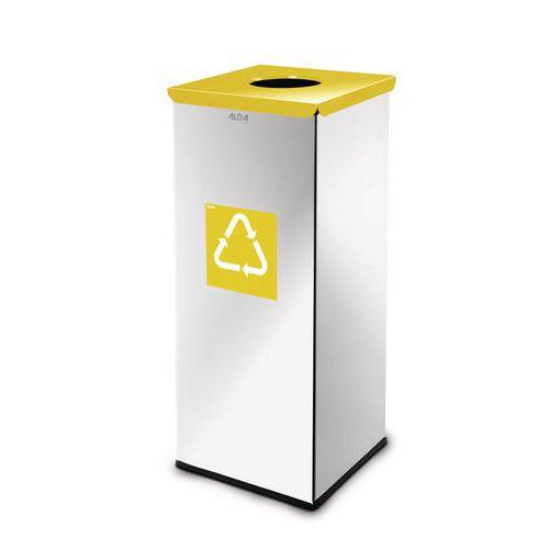 Metalen afvalbak Prestige voor recycling 60l