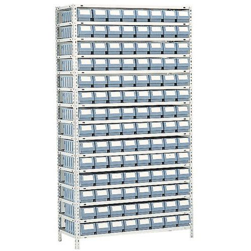 rayonnage avec bacs tiroirs s rie rk profondeur 600 mm. Black Bedroom Furniture Sets. Home Design Ideas