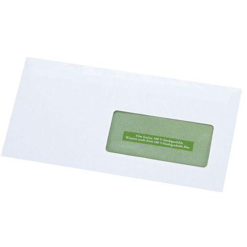 Enveloppe blanche recycl e avec fen tre for Enveloppe avec fenetre